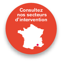 Zone d'intervention aides à domicile